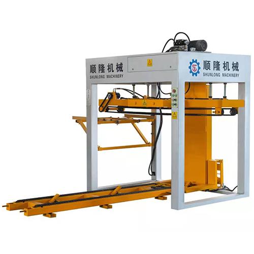 顺隆小型全自动水泥砖机专用码砖机设备